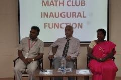 Math Club Inaugural Function 2018-2019