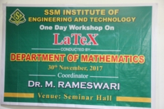 Workshop on LaTeX